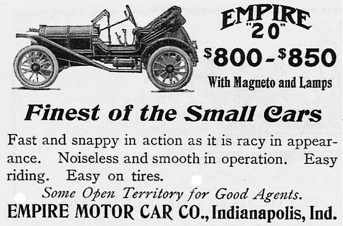 1910 Empire 20 Model B