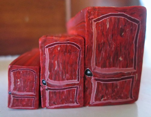 Rustic Red Door Cane