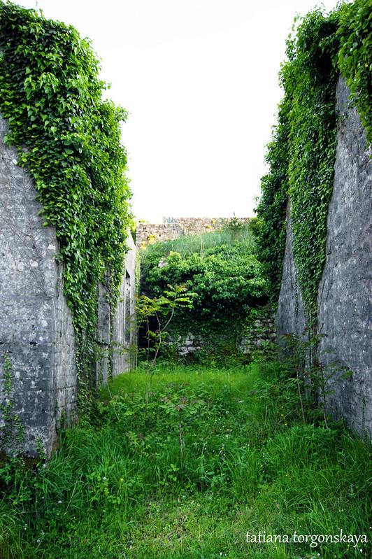 Меж двух стен
