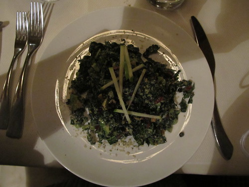 Winter Kale Salad - Dinner at the Windsor Arms