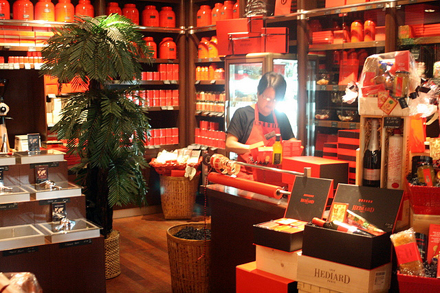 The Hediard Cafe-Boutique in Singapore is the only one in Asia