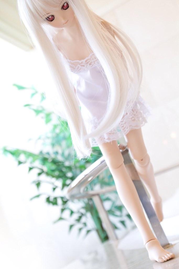 Dazzling white