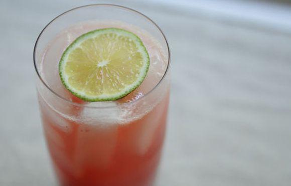 raspberry lime rickeys