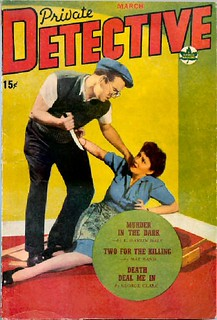 170 Private Detective (Canada) Mar-1944 Includes Murder in the Dark by E. Hoffmann Price as E. Hamlin Daly