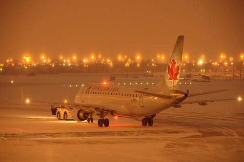 L'aéroport à Noël