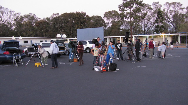 IMG_0349 Ellwood school science night telescopes by SBAU