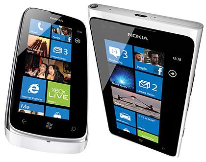 Nokia Lumia 610 and Lumia 900.