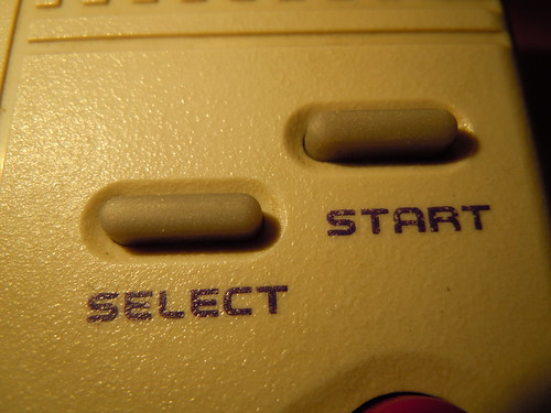 Game Fighter, Gameboy clone - select/start buttons