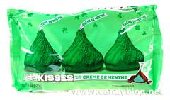 Hershey's Kisses Creme de Menthe