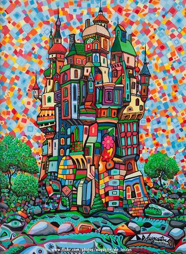 Castelo VI by Augustin de Lassus