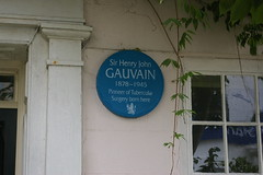 Photo of Henry Gauvain blue plaque