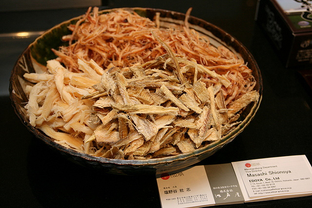 Dried Squid and Cuttlefish from Edoya