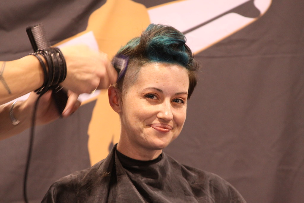 Women Clippered Nape Haircuts Short Hairstyle 2013
