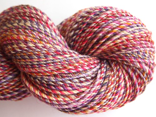 FCK fiber club -Famous Couples-Winter-Spring 2012-February-Falkland-10oz-Romeo and Juliet-3.skein-3-ply-215yds