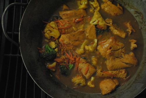 stir-fried fish