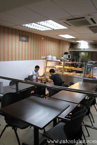 Interior, Moorthy's Mathai Restaurant