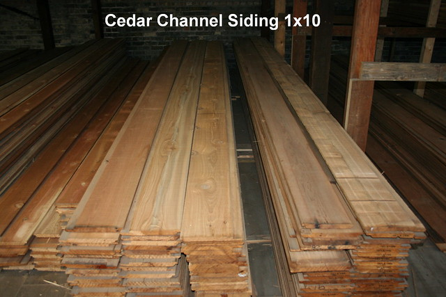Cedar Channel Siding 1x10 Flickr Photo Sharing