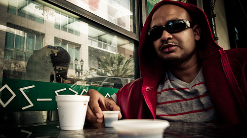 P-doe with Colada, Downtown Miami