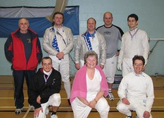 Fencers                   in the competition