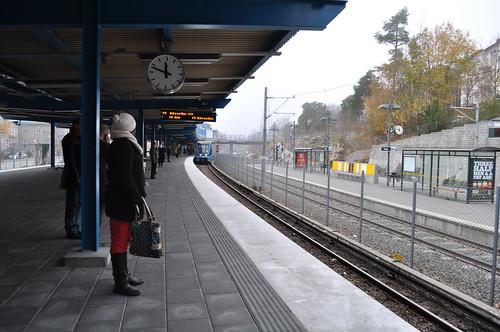 2011.11.11.121 - STOCKHOLM - Stockholms tunnelbana - Globen T-Bana
