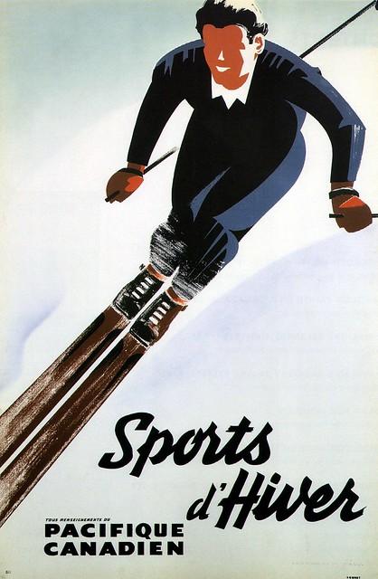 Peter Ewart, Winter Sports (Canadian Pacific) 1940