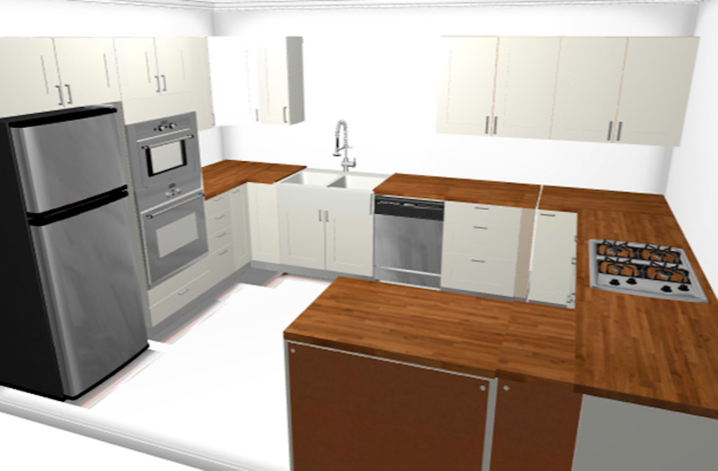 Not super accurate kitchen rendering