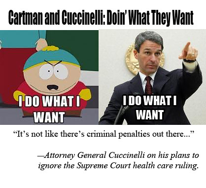 Cartman Cuccinelli