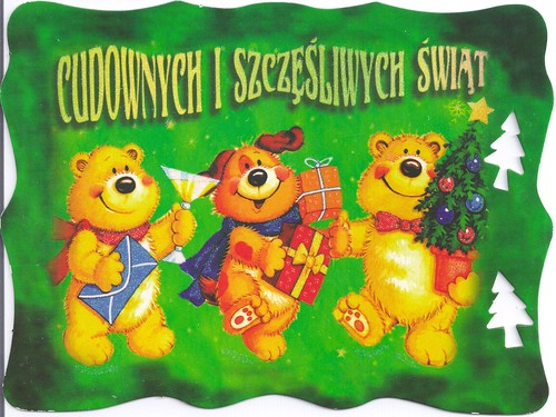 Merry Christmas Bears-Poland