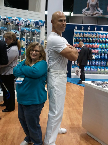 Mr Clean and Table4Five at the Housewares Show