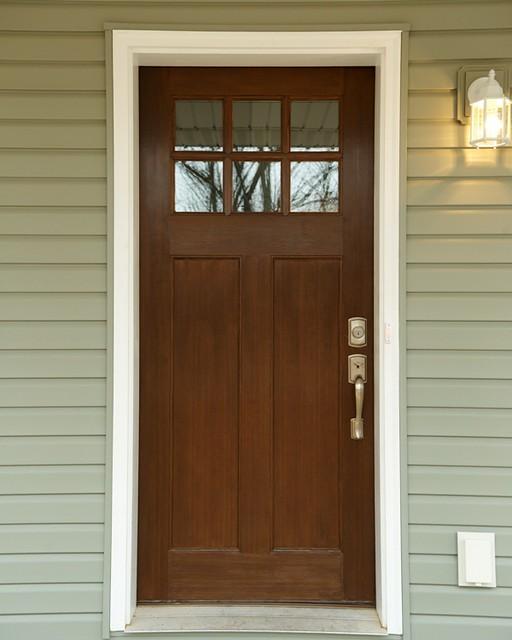 Craftsman Style Front Door Flickr Photo Sharing