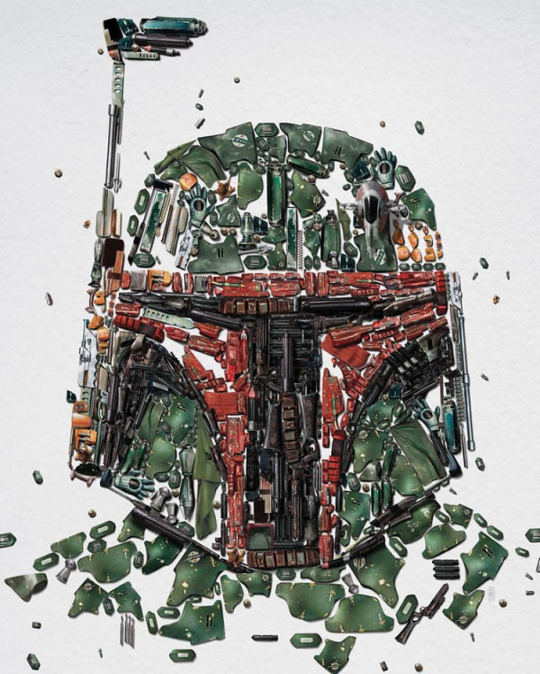Star Wars Identities - Posters boba fett