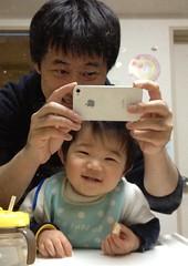 とらちゃん、楽しくごはん!(2012/3/17)