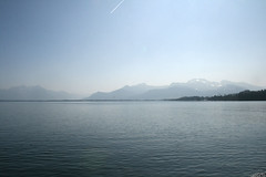 Alpenblick am Chiemsee