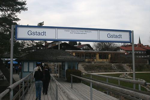 Ankunft in Gstadt