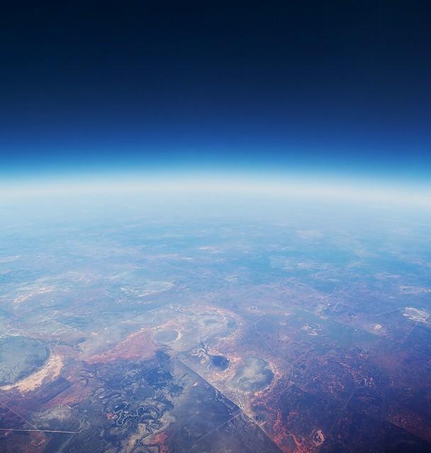 Central Australia 30,000ft