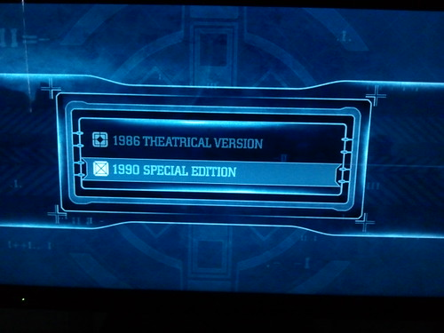 Aliens Blu-ray Menu