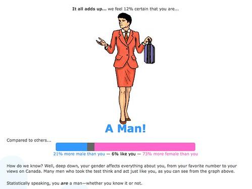 A Man!