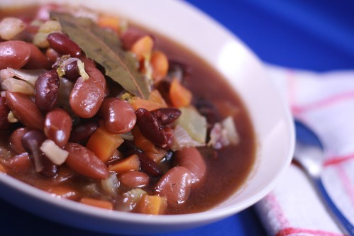 Súp đậu đỏ – Slow cooked red bean soup   Eating healthy, eating tasty