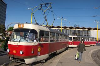 Soviet-era tram