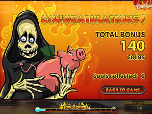 Devil's Delight bonus game