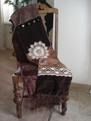 Large Baroque or Bohemian Scarf