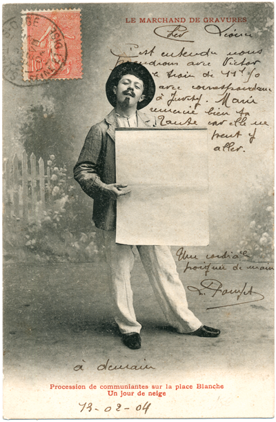 Postcard_1904_NGV announces New Director_Le marchand de gravures_sRGB_400