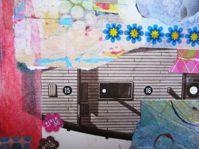 Art Journal detail: boat