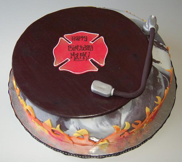 Firefighter Birthday Cake Decorations