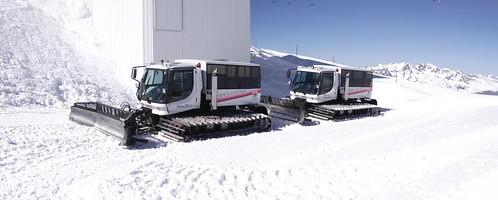 Glacier buses