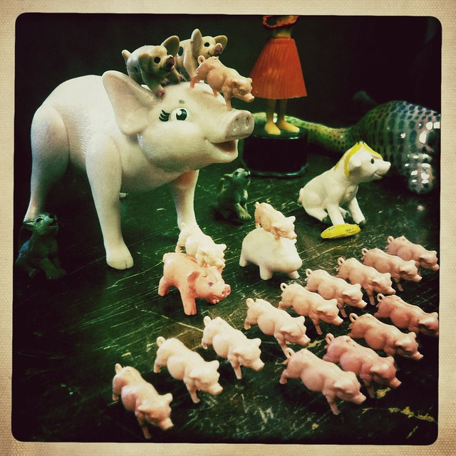Battlepigs at the Ready