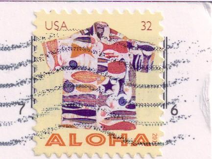 Aloha Stamp USA