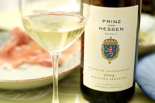 2004 Prinz von Hessen Riesling Spatlese