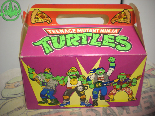 "MELLO SMELLO :: ""TEENAGE MUTANT NINJA TURTLES"" Valentine Kit .. box vii (( 1994 ))"