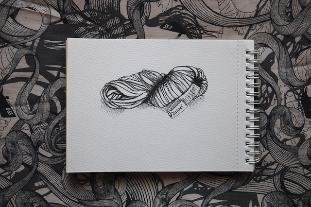 yarn drawings